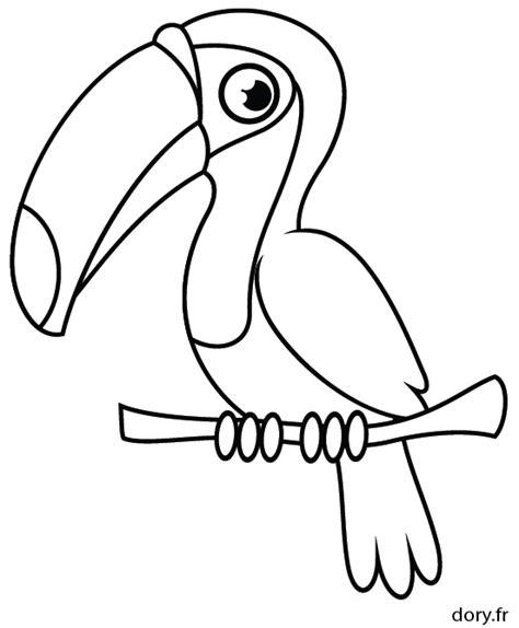 Dessin 224 Imprimer Un Toucan Dory Fr Coloriages