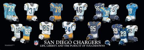 san diego chargers throwback uniforms san diego chargers and team history heritage