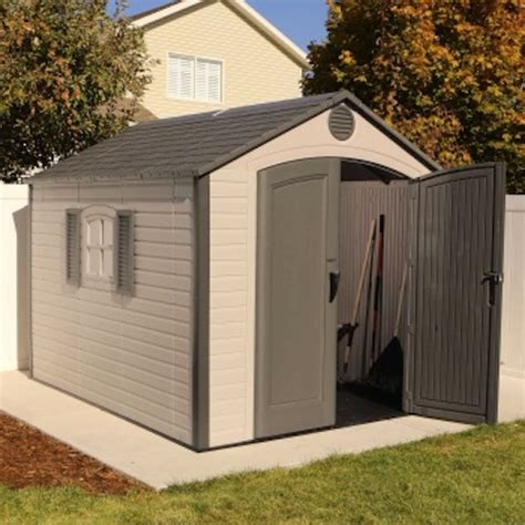 Lifetime Shed 8 X 10 by Lifetime 60056 8 X 10 Storage Shed On Sale With Fast
