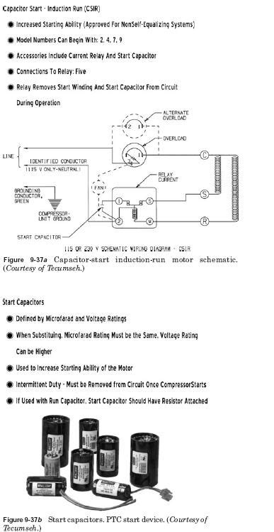 capacitor start induction motor capacitor start induction run motor