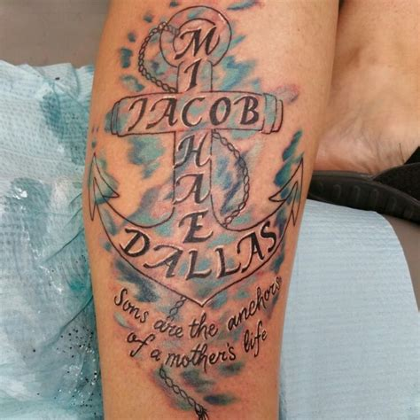 anchor tattoos with names 25 best ideas about watercolor anchor on