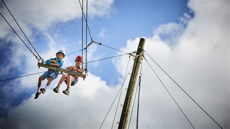 large swing family activity holidays in lincolnshire at caythorpe court