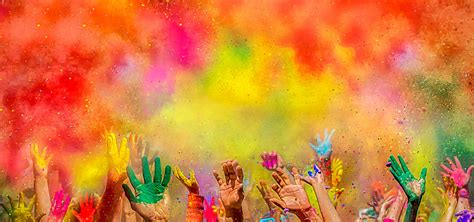 background colors carnival background color powder crowd color