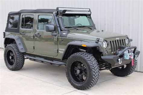 tank green jeep 2015 tank green jeep wrangler unlimited sport with 3 lift