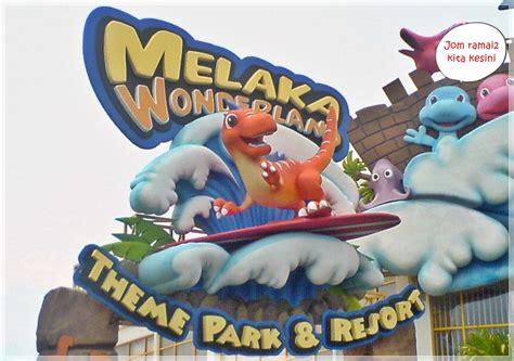 theme park adalah bermulanya satu ceritera melaka wonderland theme park