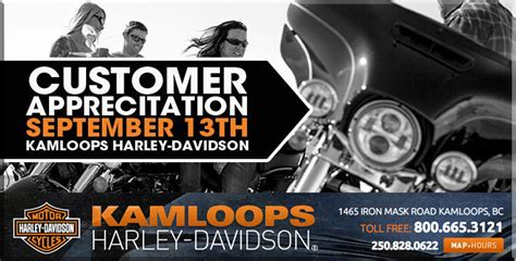Kamloops Harley Davidson by Kamloops Harley Davidson Customer Appreciation Day