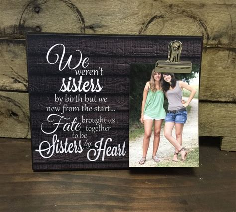 Personalized Picture Frame, Gift For Sister, Gift For Best