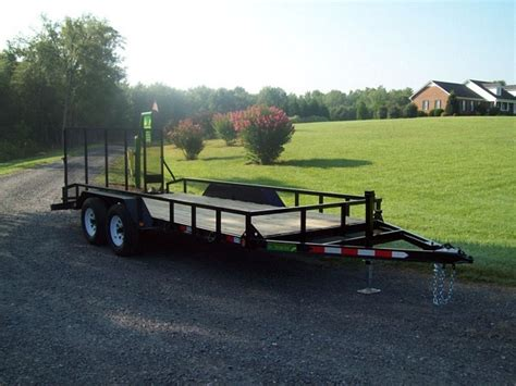 used landscape trailers mike s l g 16 landscape trailer mikes welding