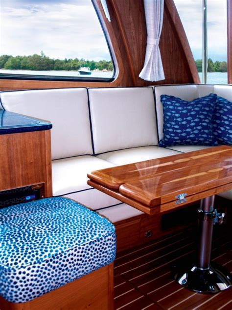 small boat interior design ideas in style boat interiors boatmodo the best gifts for