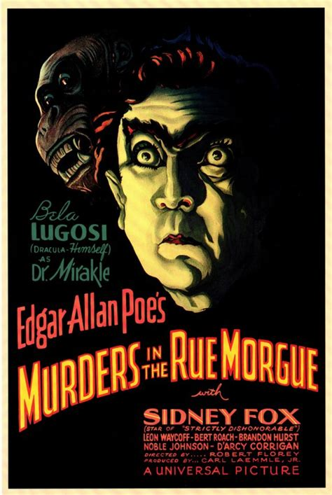 The Murders In The Rue Morgue episode 4 murders in the rue morgue is not a gorilla a