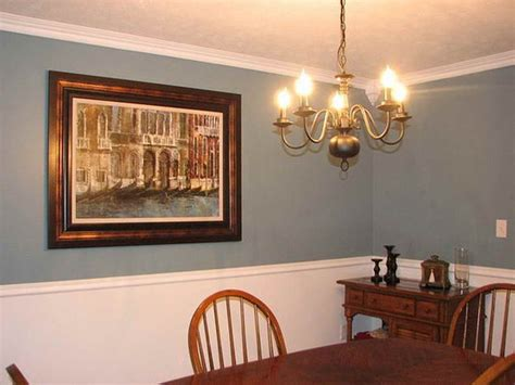 Dining Room With Chair Rail Paint Colors Dining Room Tips For Choosing The Best Dining Room Color