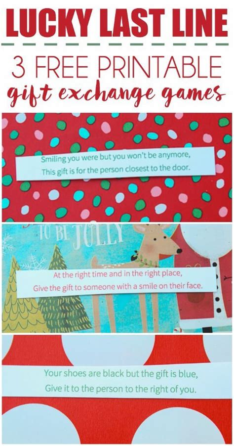 printable christmas exchange games 497 best images about christmas games to play on pinterest