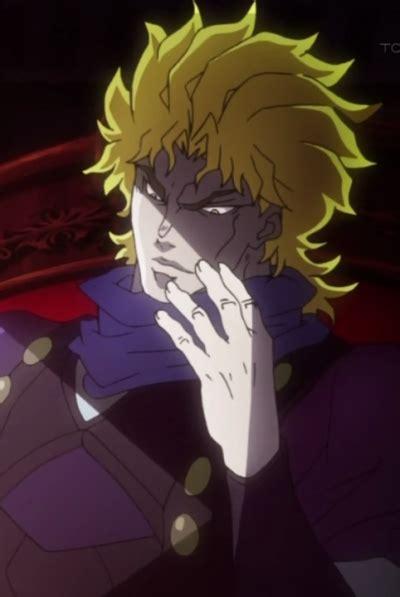 jojo hair anime dio brando anime planet