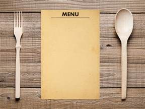 Empty Menu Templates by Blank Menu Template Menu Template Free Premium Templates