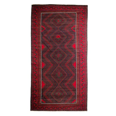 7 X 12 Area Rugs Darya Rugs Tribal Black 6 Ft 7 In X 12 Ft 5 In Indoor Area Rug M1753 105 The Home Depot