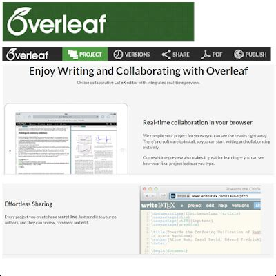 latex tutorial overleaf coding resources hobson research