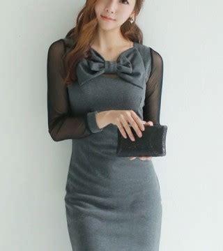 Gf533 Tas Fashion Import Korea Wanita Murah Pita Bow Kuliah Kerja dress wanita model pita lucu model terbaru jual murah