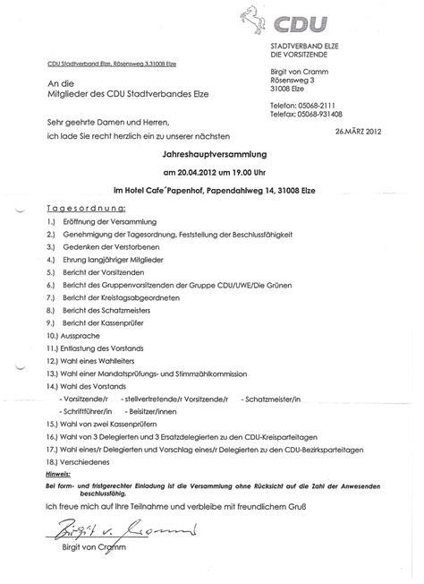 Einladung Mitgliederversammlung Muster Einladung Mitgliederversammlung Verein Muster Brillebrille Info