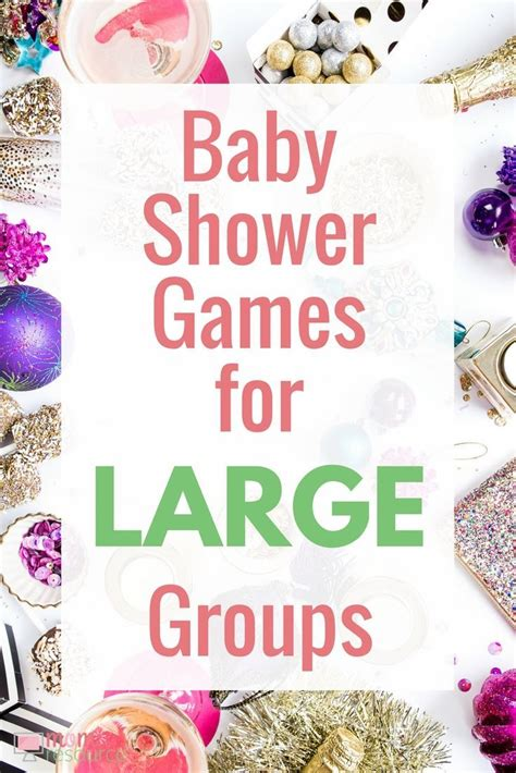 Baby Shower For Big Groups large baby shower ideas baby shower bingo baby shower