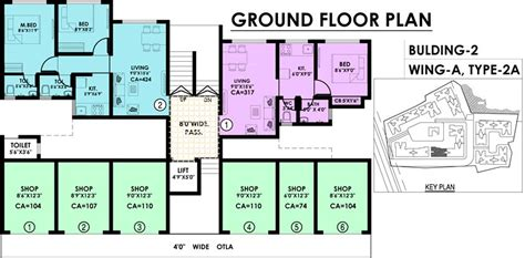 building ground floor plan irasa park in palghar mumbai price location map floor