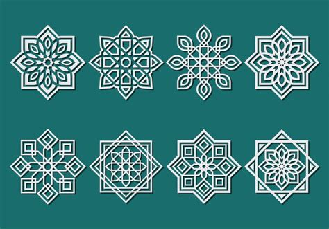 islamic pattern vector ai islamic ornament vector download free vector art stock