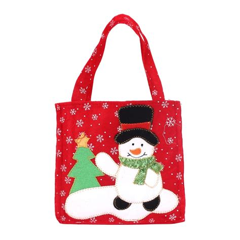 new fashion santa claus gift bags merry christmas candy