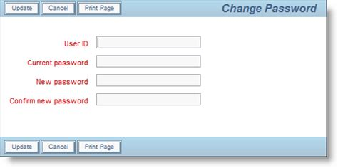 change password screen design user sign on screen product documentation