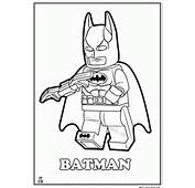 Batman Lego Coloring Pages For Kids 889