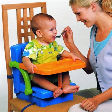 travel high chair with tray kit hi seat baby toddler folding travel feeding