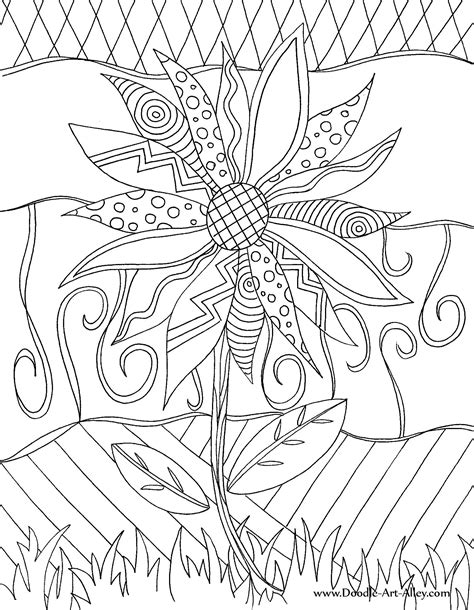 22 Collections Of Free Doodle Coloring Pages Gianfreda Net Doodle Coloring Pages To Print