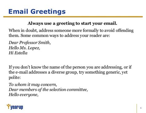 email greetings new greeting for formal email greeting