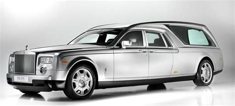 roll royce panda rolls royce phantom hearse is a classy costly way to go