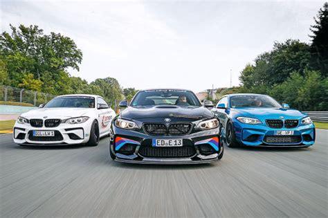 Getunte Auto Kaufen by Drei Getunte Bmw M2 Im Test Autobild De