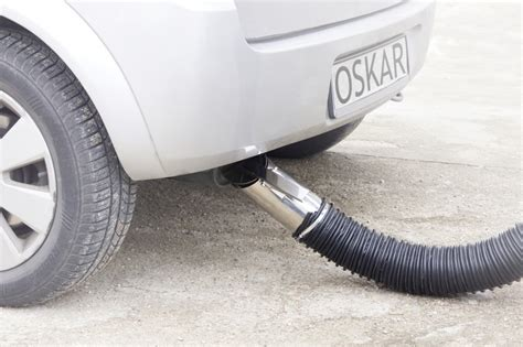 Car Fumes In Garage by Exhaust Hose Reels Oskar Air Products