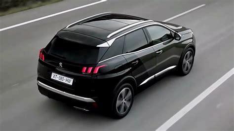 peugeot 3008 2017 black 2017 peugeot 3008 drive youtube