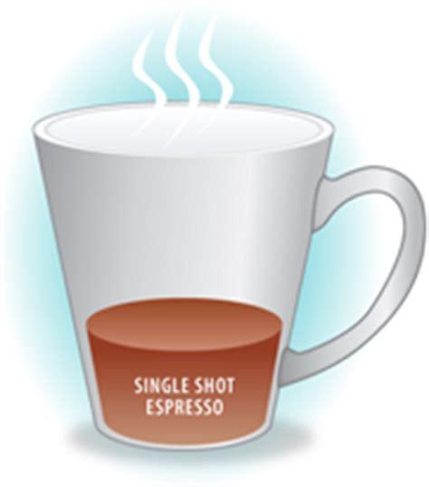 ounces in shot of espresso what is an espresso latte cappuccino ristretto