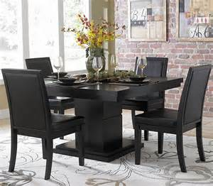 Dining Table Set Black Black Dining Set Chicago Furniture Store
