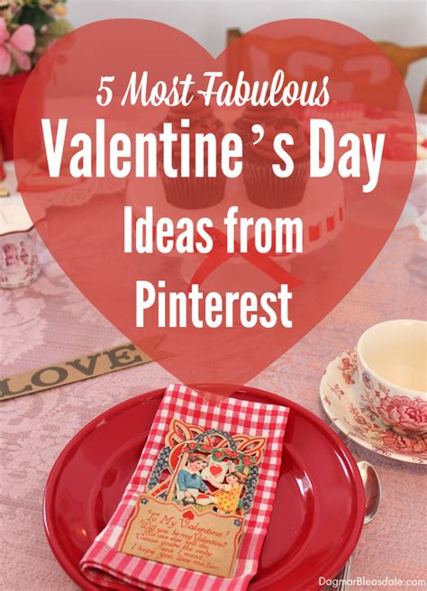 valentine s day gift ideas for her pinterest my 5 favorite valentine s day ideas from pinterest