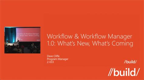 windows workflow foundation future workflow workflow manager 1 0 what s new what s coming