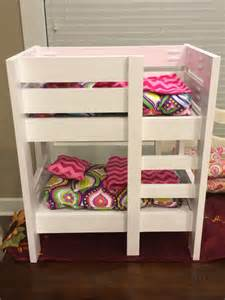 american doll bunk bed white american doll bunk beds diy projects