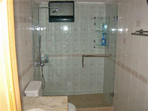 Tempered Glass Untuk Kamar Mandi jual sekat kamar mandi shower screen shower fitting