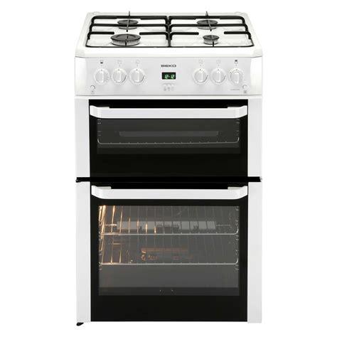 Oven Gas Ukuran 60 Cm beko bdvg694wp 60cm freestanding oven gas cooker with 4 burners in white 5023790024945 ebay