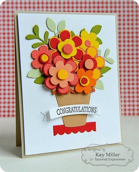 make a congratulations card top 221 ideas about birthday cards flower pots on