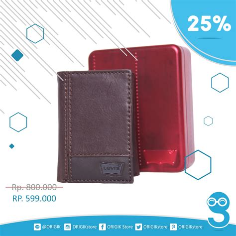 Dompet Pria By Bylineshop Wallet jual dompet pria levi s mens trifold two tone wallet