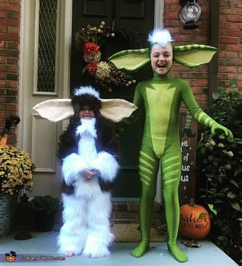 Homemade Halloween Costumes For Siblings