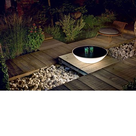 outdoor solar table l table basse lumineuse solar outdoor