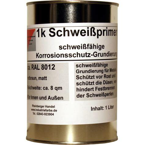 Rostumwandler Vor Lackieren by Schwei 223 Primer Schwei 223 F 228 Hige Grundierung Rostschutz