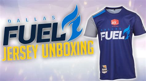 Kaos Jersey Overwatch League Dallas Fuel overwatch league dallas fuel jersey unboxing review