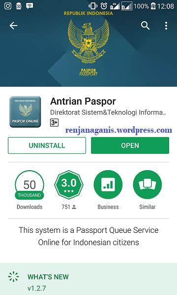 membuat paspor melalui calo membuat paspor dan memperpanjang paspor dengan antrian