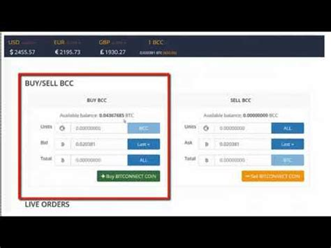 Bitconnect Converter | convert bitcoins to bitconnect coins in bitconnect acct